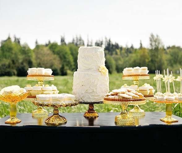Фото 12056862 в коллекции Кэнди бар как полноценный элемент Вашей свадьбы... - WedDay - декор и флористика