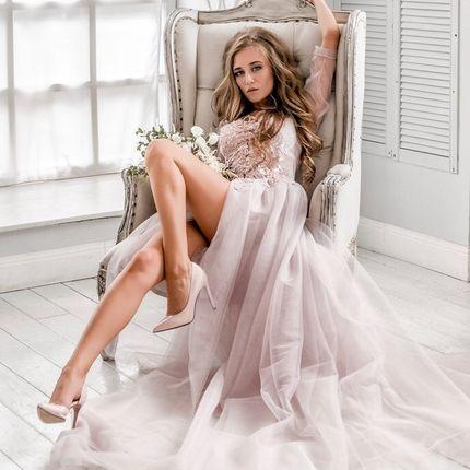 Будуарное платье для свадебного утра, арт 20