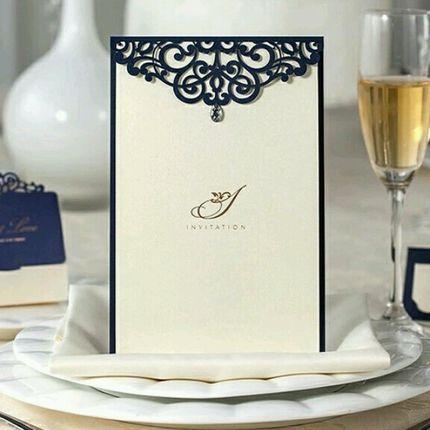 Свадебные приглашения в стиле свадьбы, цена за 1 шт