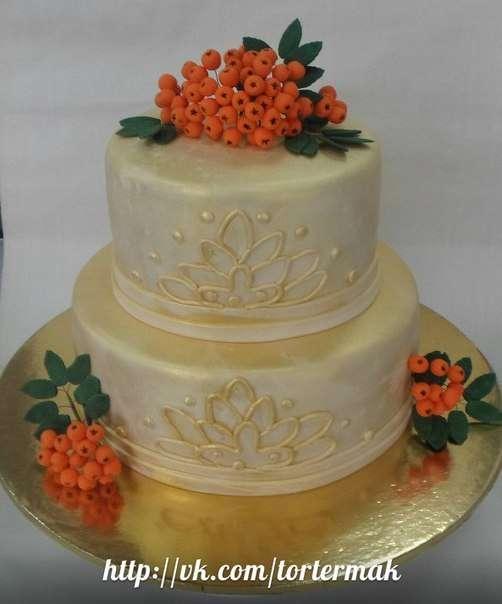 Фото 12169428 в коллекции Свадебные торты нового сезона - Мастерская тортов Ольги Ермак