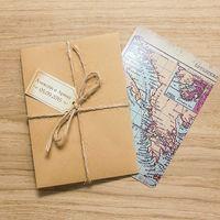 Конверт из дизайнерской бумаги Sirio tele bruno 290 г Карточка и бирка из мелованной бумаги 350 г