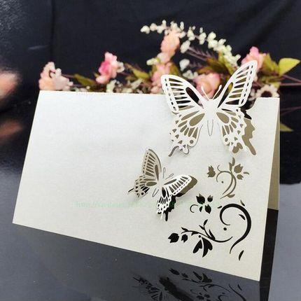Резные рассадочные карточки (в ассортименте)