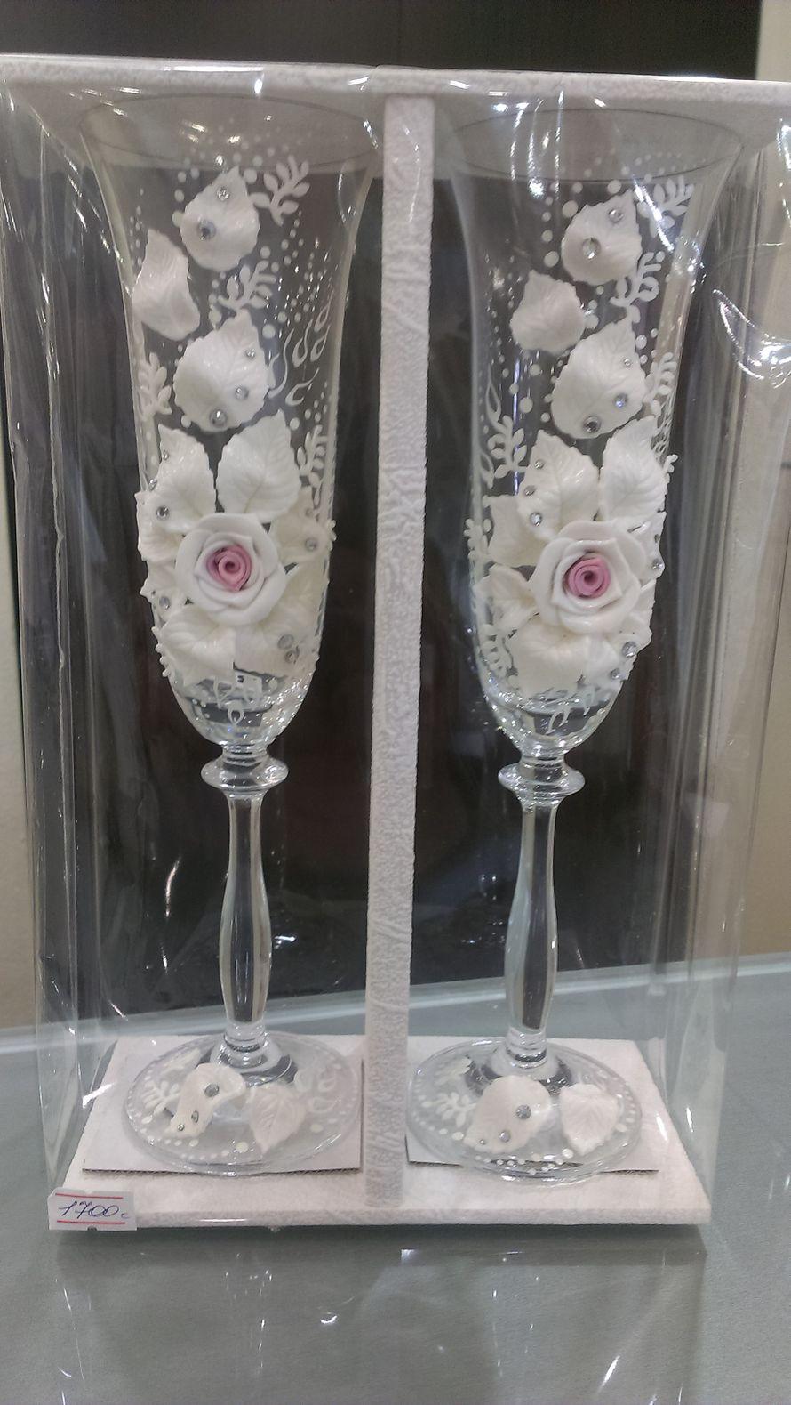 """Фото 2227944 в коллекции Свадебные бокалы,семейные очаги и банки - Магазин-салон """"Свадебный вальс"""""""