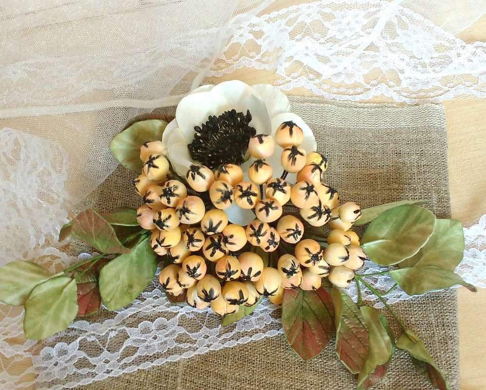 """Фото 14943060 в коллекции свадебный комплект ,,винтаж,, - Мастерская флористики """"Рodarki_irina"""""""