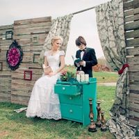 Еще одна винтажная свадьба (Нина и Александр)