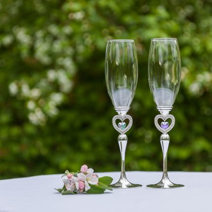 Свадебные бокалы, L 002