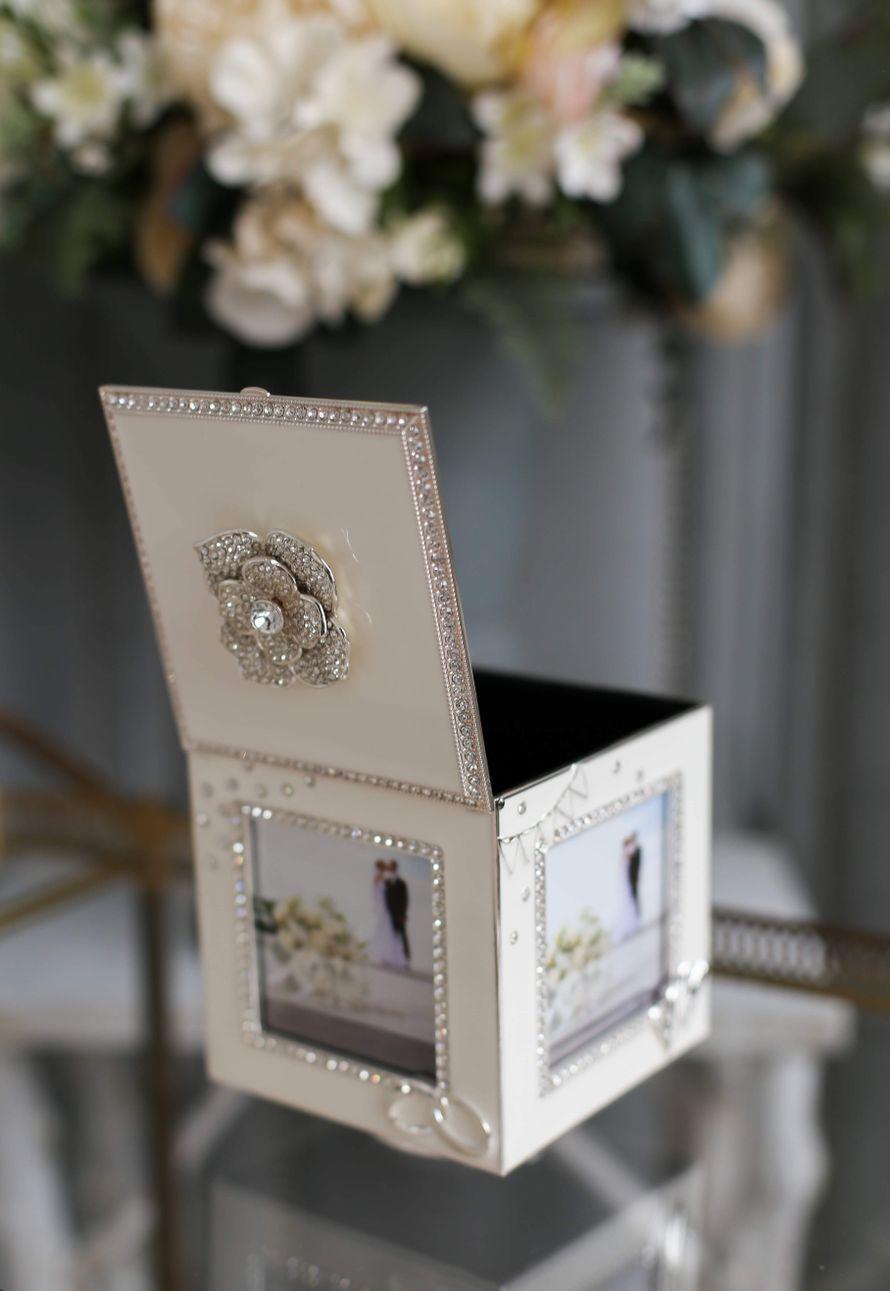 Свадебная музыкальная шкатулка для украшений
