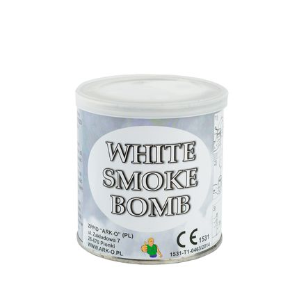 Дым Smoke bomb белый