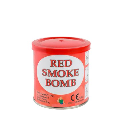 Smoke bomb красный