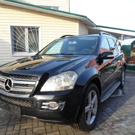 Аренда Mercedes GL 1 час