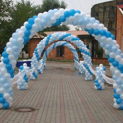 Фигуры из воздушных шаров, цена за 1 метр