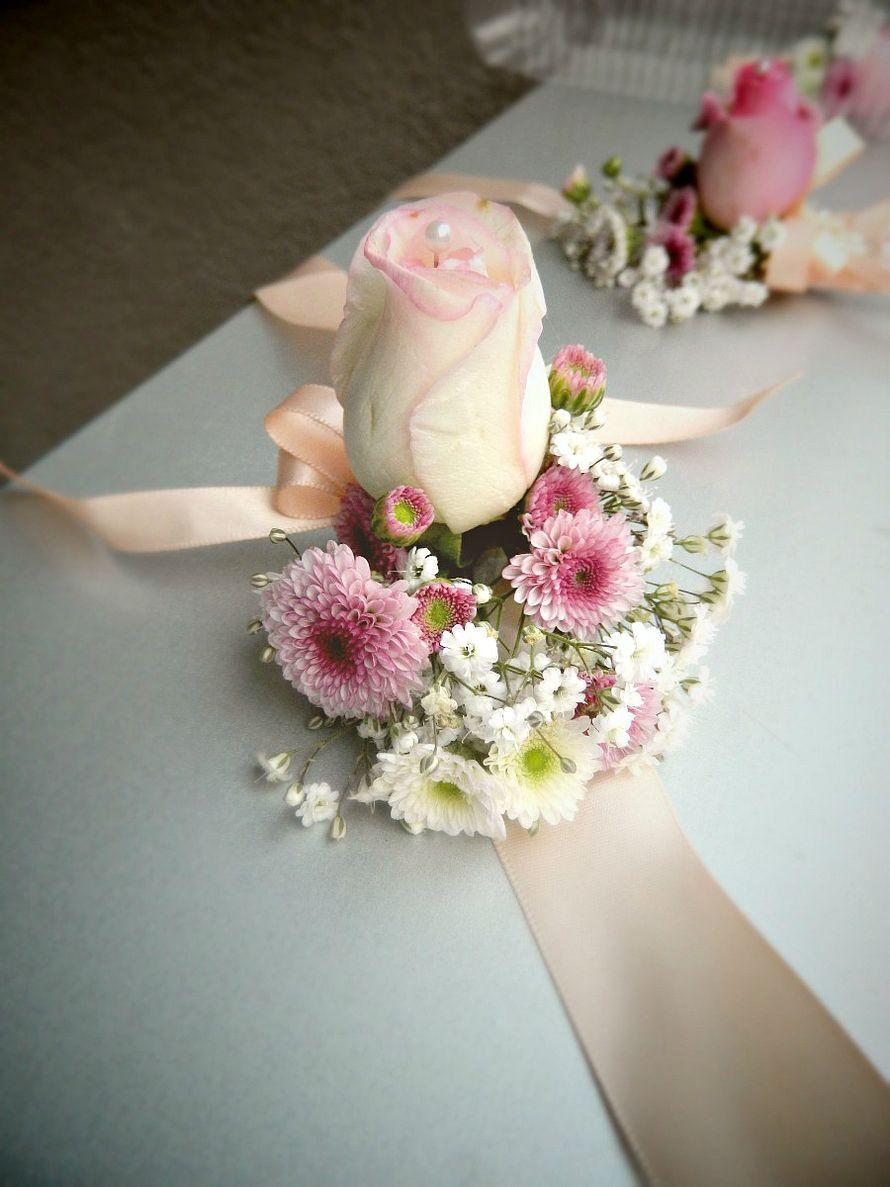 Фото 12552116 в коллекции Браслет из живых цветов - Floristique - флористика
