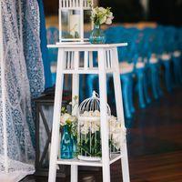 Каждый элемент декора играет свою роль в создании настроения свадьбы...