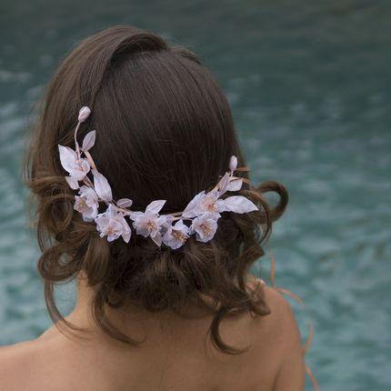 Причёска свадебная или вечерняя