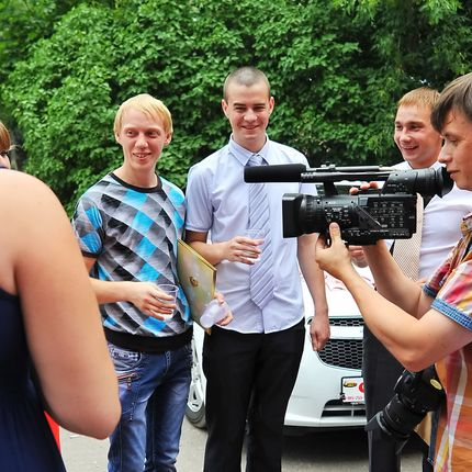 Видеосъёмка регистрации брака, 2 часа