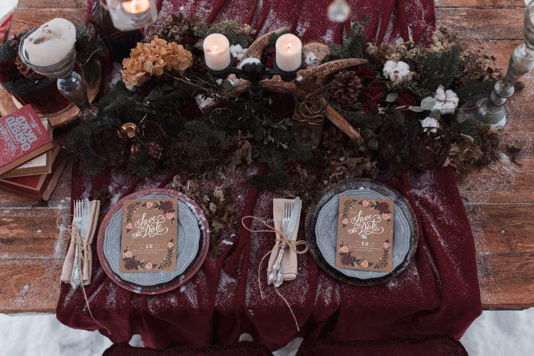Фото 12719060 в коллекции Marsala Wedding 12/11/16 - Wood&love - студия флористики и декора