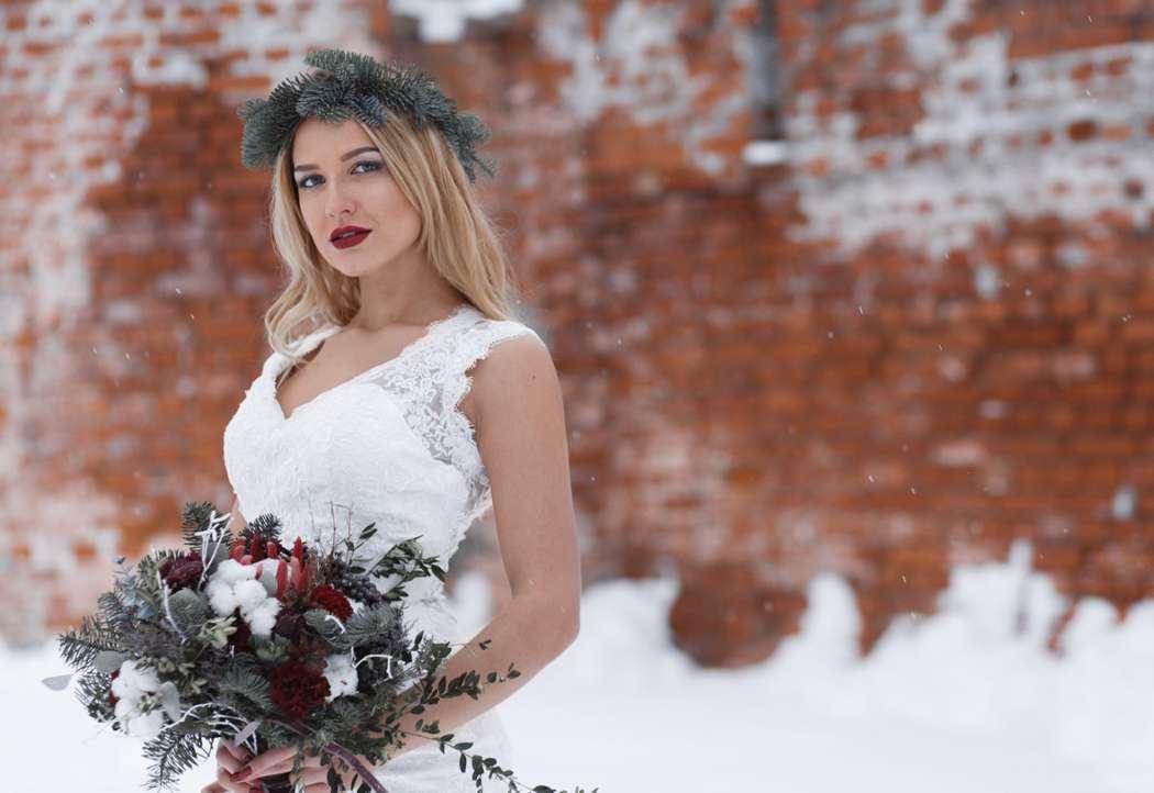 Фото 12719084 в коллекции Marsala Wedding 12/11/16 - Wood&love - студия флористики и декора