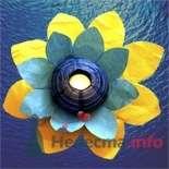Плавучий фонарик синий - фото 40329 Ксения85