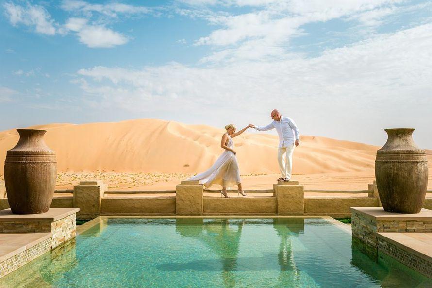 Свадьба в Qasr Al Sarab Desert Resort - фото 12769648 Eclipse Events - свадебные церемонии в Дубае