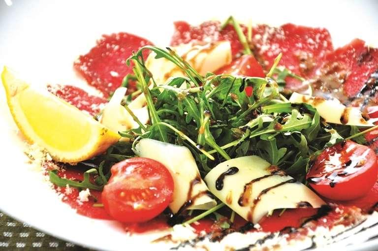 Карпаччо из лосося - фото 13745514 Ресторан Папа Карло