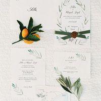 Оливковая свадьба приглашения