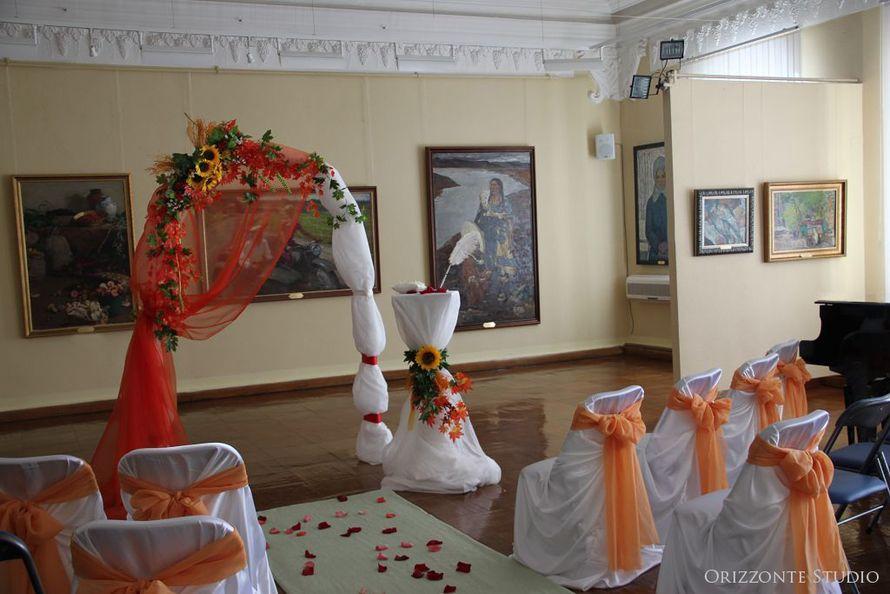 Свадьба с выездной регистрацией в Дальневосточном Художественном музее - фото 1552259 Orizzonte studio - свадьба под ключ