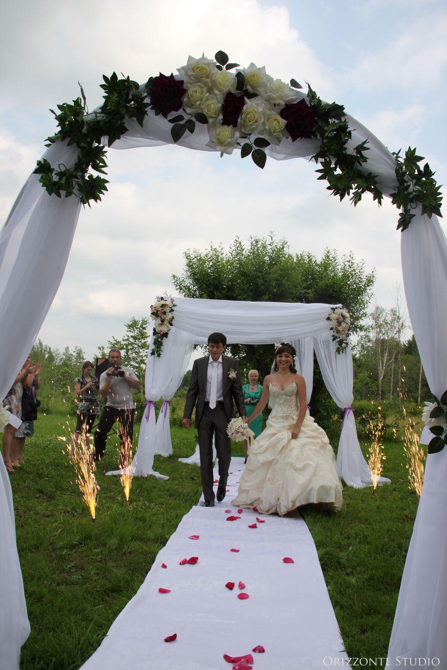 Свадьба с выездной регистрацией на парковой площадке ресторана «Старая мельница» - фото 1552283 Orizzonte studio - свадьба под ключ