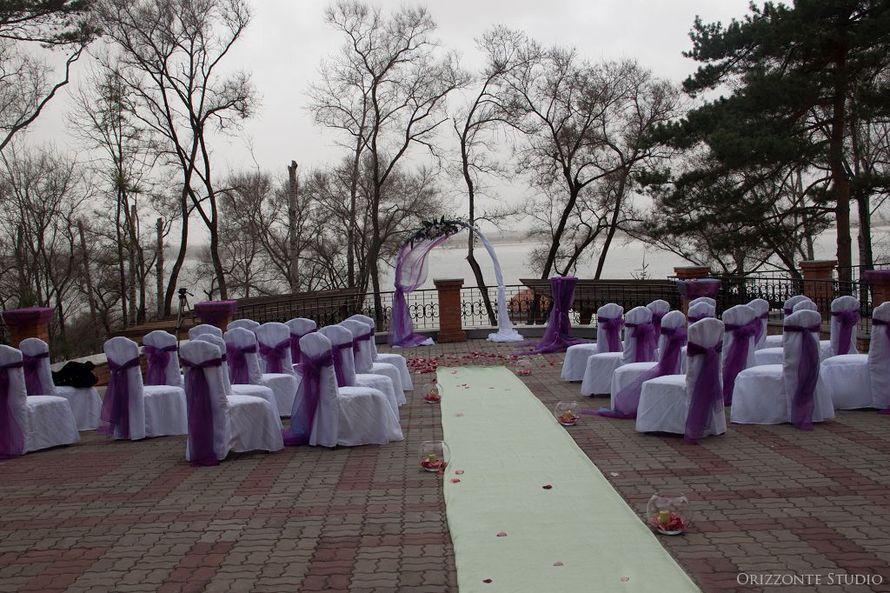 Свадьба с выездной регистрацией на смотровой площадке ресторана «Парус» - фото 1552297 Orizzonte studio - свадьба под ключ