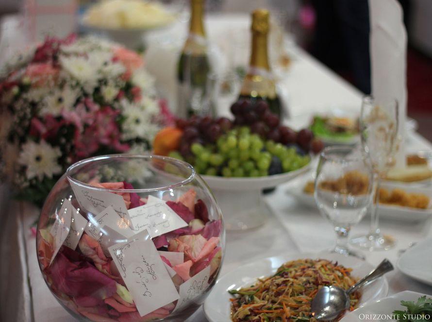 """Оформление свадебного банкета в ресторане """"Интурист"""". - фото 1552347 Orizzonte studio - свадьба под ключ"""