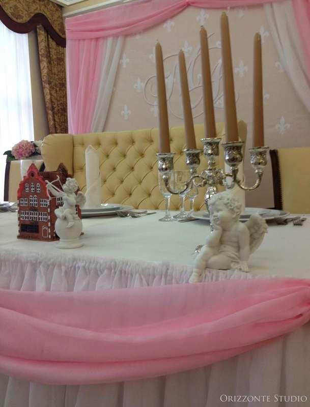 """Оформление свадебного банкета в ресторане """"Версаль"""" - фото 1552355 Orizzonte studio - свадьба под ключ"""