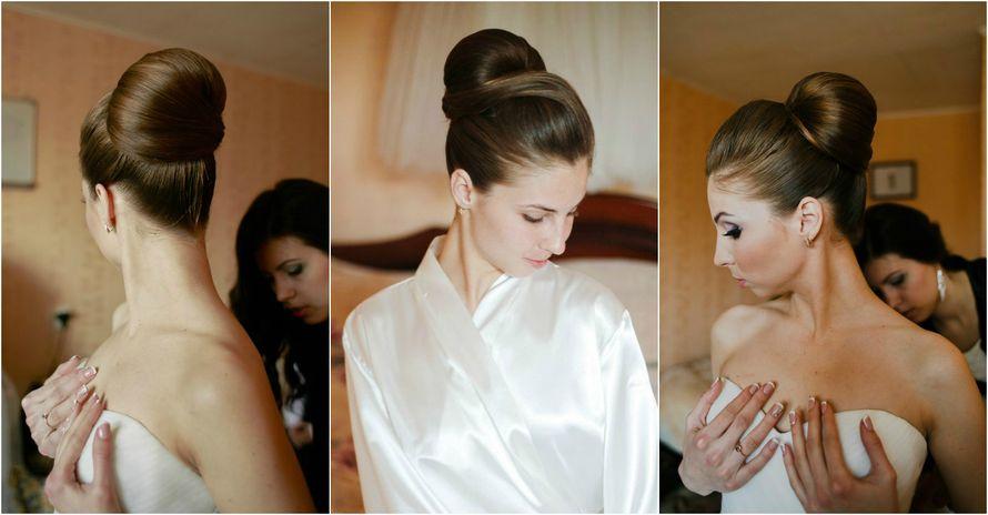 Фото 12993124 в коллекции Свадебные прически - Стилист причёсок Ксения Иващук