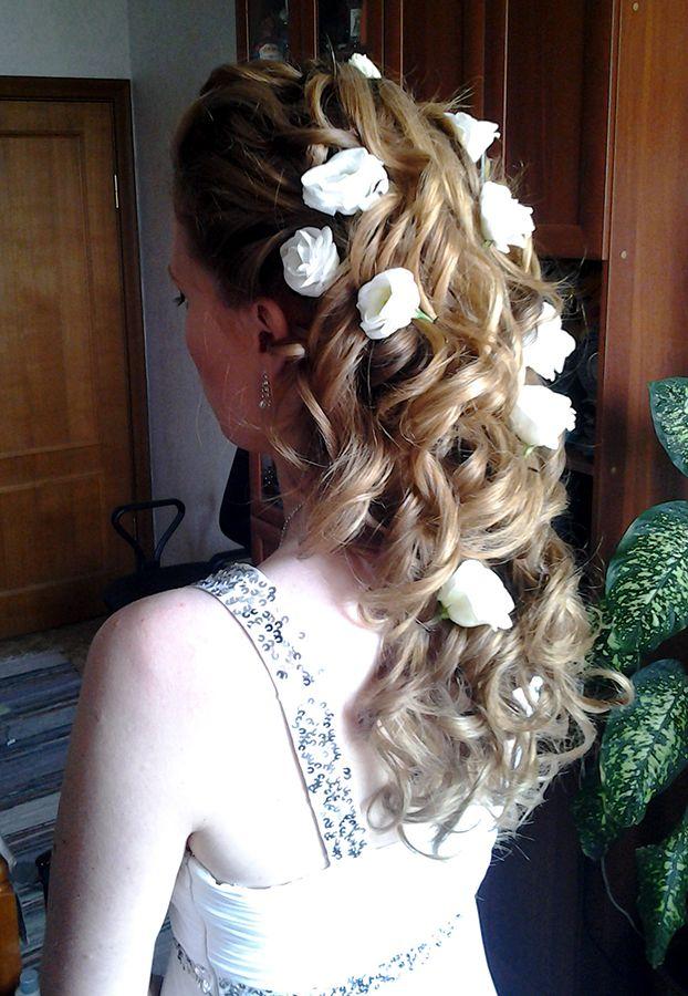 Прически выпускной длинные волосы греческий стиль