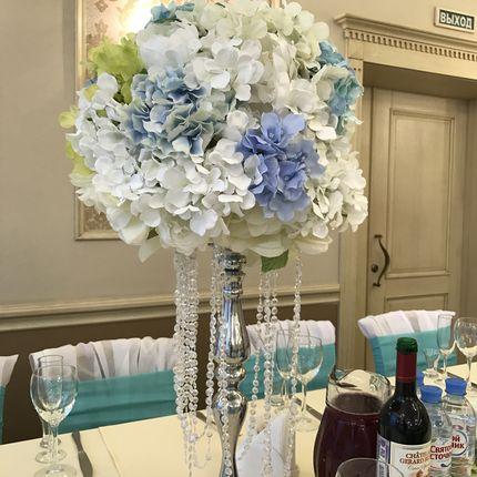 Цветочная композиция на стол для гостей, цена за 1 композицию