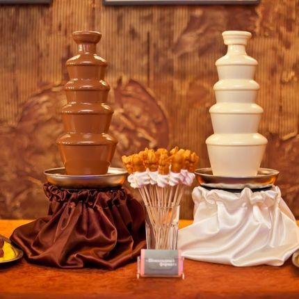 """Шоколадный фонтан - пакет """"Шоколадная парочка"""""""