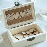 Коробочка для хранения сердечек с пожеланиями