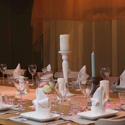 Свадебный банкет в классическом стиле
