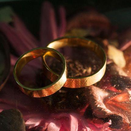 Мастер-класс по созданию обручальных колец из золота