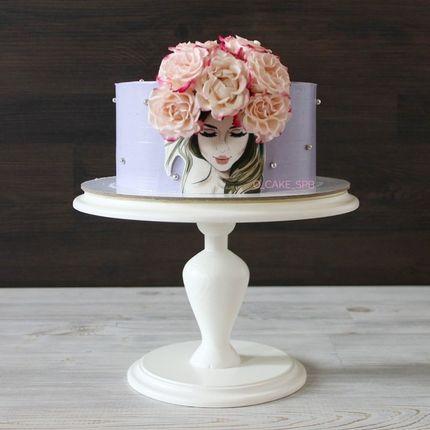 Торт с декором, за 1 кг