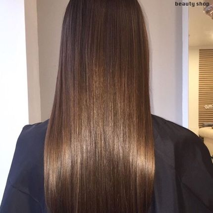 Мелирование на очень длинные волосы