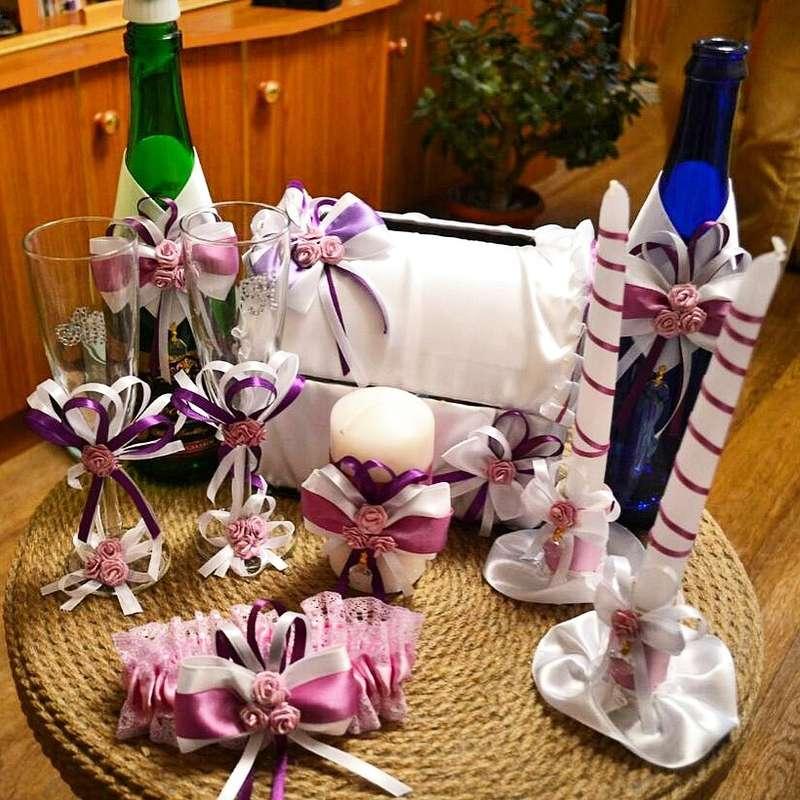 Фото 13440592 в коллекции Фужеры, свадебное шампанское, подушечка для колец, корзиночка - Оформители Wedding Decor73