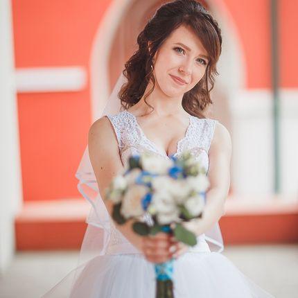Макияж и причёска невесты с репетицией