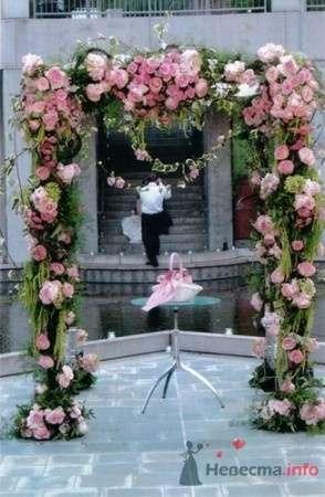 """Фото 34520 в коллекции Свадебная флористика - Свадебное агентство """"Пятая Авеню"""""""