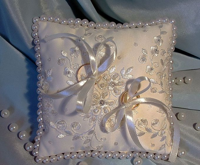 Подушка под кольца свадьбу