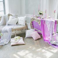 утро невесты, красивое утро невесты, нежный букет, сиреневый декор, сиреневые цветы, будуар