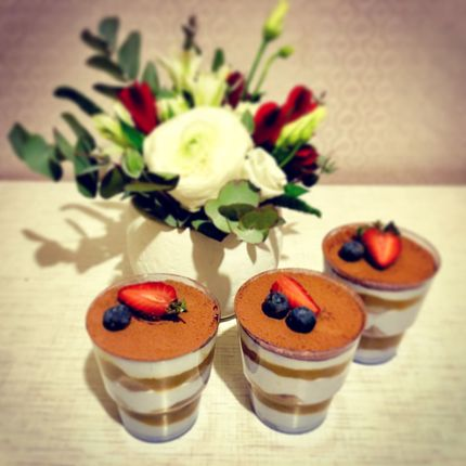 Трайфлы (десерты в стакане), цена за 1 шт