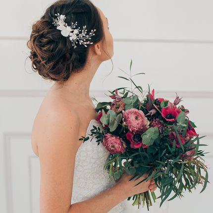 Причёска невесты с репетицией