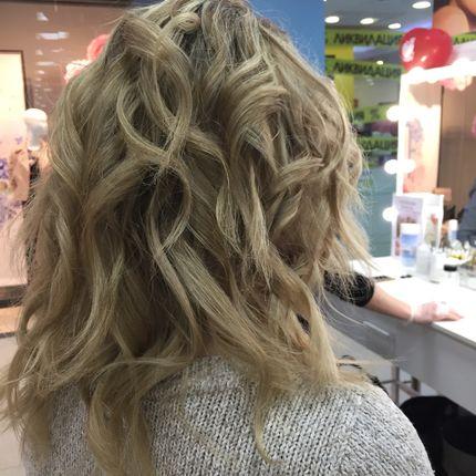 Экспресс укладка или причёска для гостей