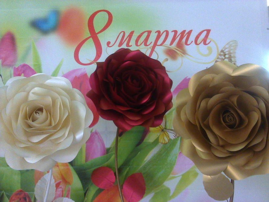Большие розы в аренду