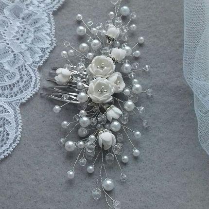 Свадебное украшение для волос