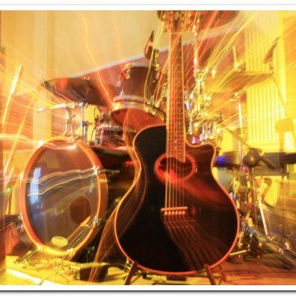 Выступление музыканта